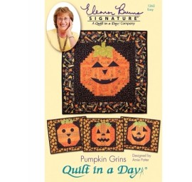 Pumpkin Grins: Eleanor Burns Signature Pattern 735272012627