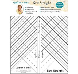 Sew Straight by Quilt in a Day
