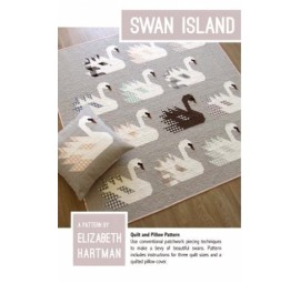 Swan Island Pattern by Elizabeth Hartman