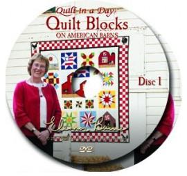 Quilt Blocks on American Barns DVD