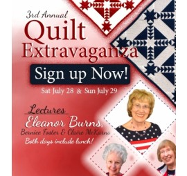 Quilt in a Day 2018 Quilt Extravaganza Day 2