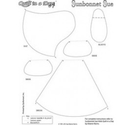 Sunbonnet Sue Only Fusible Interfacing - 2 Per Panel
