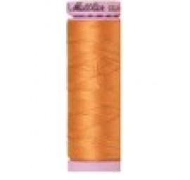 Mettler Thread- Silk Finish Cotton 50 wt, 164 yds Dried Apricot