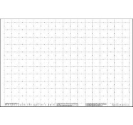 1 Inch Grid Printed Fusible Interfacing