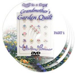 Grandmother's Garden Quilt DVD