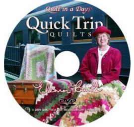 Quick Trip Quilts DVD