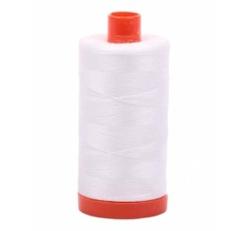 Aurifil Natural White 50 wt Cotton 1422 yd
