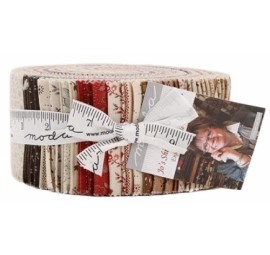 Jos Shirtings Jelly Roll by Jo Morton Moda Precuts
