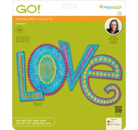 Accuquilt Die GO! 55306 Love by Sarah Vedeler