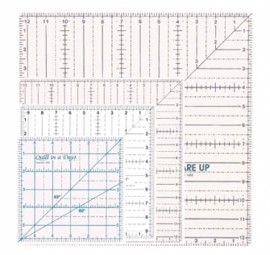 Quilt In A Days Square Up Ruler Combo