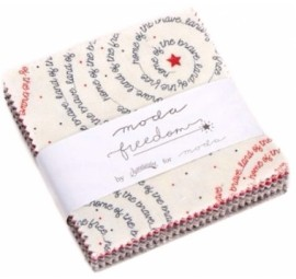 Freedom Moda Treat  3.5 inch square -  Moda Precuts