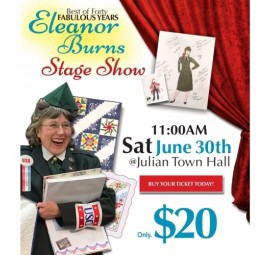 Eleanor Burns Stage Show - Best of Forty Fabulous Years