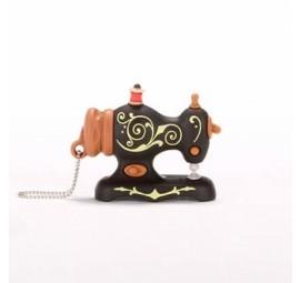 USB 2GB - Black Antique Sewing Machine by SmartNeedle