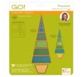 Accuquilt Die GO! 55096 Sparkle-Slim Tree by Sarah Vedeler