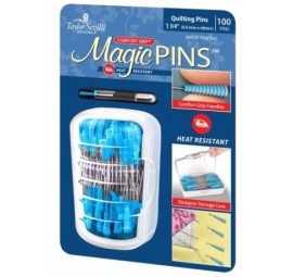 Tailor Mate Magic Pins In Designer Case 100pc by Taylor Seville