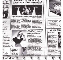 TIMELESS TREASURES - News Print