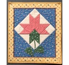 Egg Quilt Wall Hanging