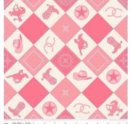 RILEY BLAKE - Cowgirl-C5637-PINK