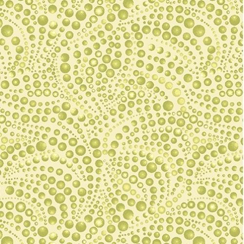 BENARTEX - Cat-i-tude - Beaded Swirls Tonal Light Green
