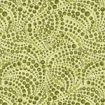BENARTEX - Cat-i-tude - Beaded Swirls Tonal Green