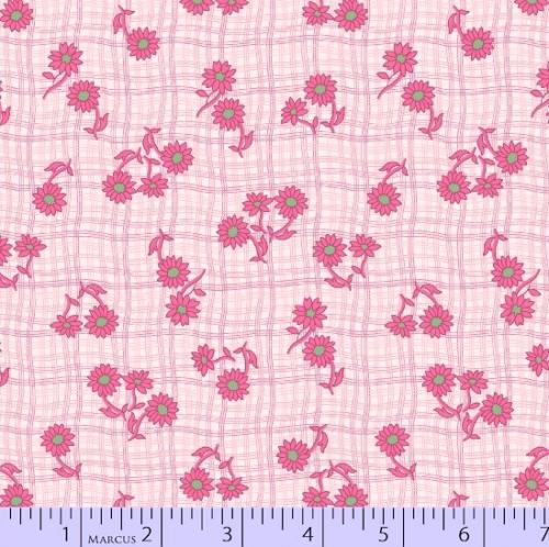 MARCUS BROTHERS - Prettiful Posies - Clara Small Pink Flowers - FB7652-