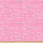 RILEY BLAKE - Simply Happy - Text Pink  - #2106-
