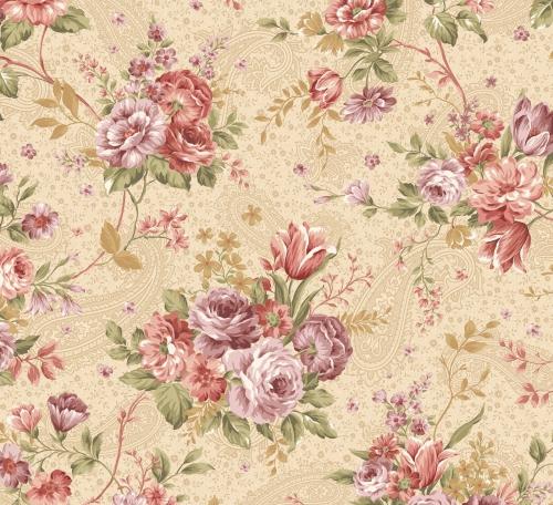 BENARTEX - Zelie Ann - Grandview - Erma's Bouquet Beige