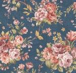 BENARTEX - Zelie Ann - Main Street - Erma's Bouquet Teal