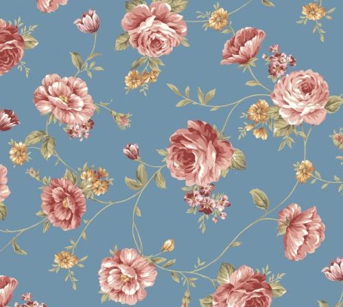 BENARTEX - Zelie Ann - Main Street - Else's Flowers Teal