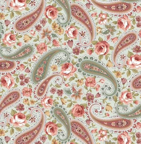 BENARTEX - Zelie Ann - Grandview - Floral Paisley Sage