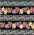 BENARTEX - Lilyanne - Lily Stripe Black/Multi