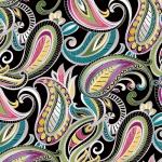 BENARTEX - Lilyanne - Pais Lily Paisley Black/Multi
