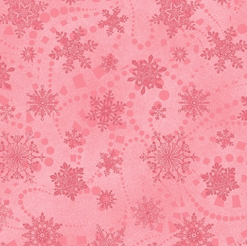 BENARTEX - Cat-i-tude Christmas - Snowflake Spree Rose