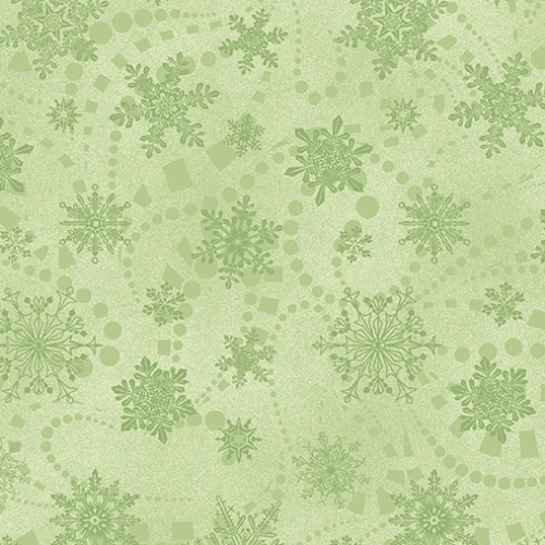 BENARTEX - Cat-i-tude Christmas - Snowflake Spree Mint
