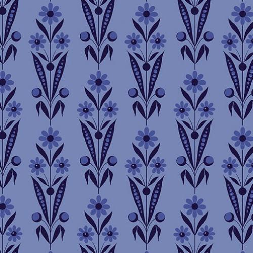 BENARTEX - Somerset - Daisy Bouquet Blue