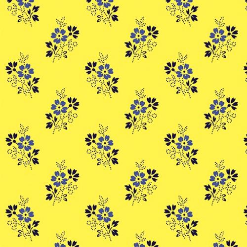 BENARTEX - Somerset - Ditsy Yellow