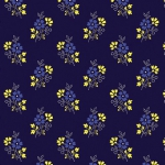BENARTEX - Somerset - Ditsy Navy