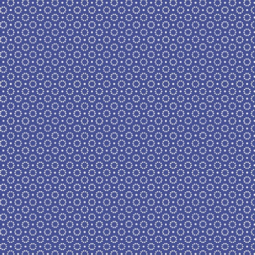 BENARTEX - Somerset - Dotted Circle Blue