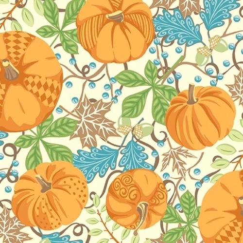 CONTEMPO - Thankful - Pumpkins Cream - #2269-