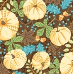CONTEMPO - Thankful - Pumpkins Brown - #2275-