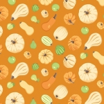 CONTEMPO - Thankful - Squash Orange - #2273-