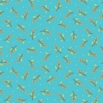 CONTEMPO - Thankful - Berries Teal - #2274-