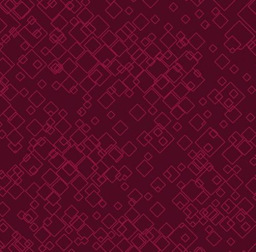 BENARTEX - Dog On It - Tonal Squares - Raspberry