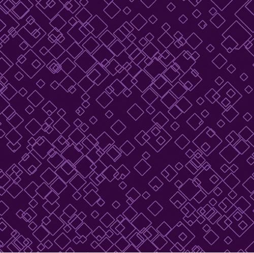 BENARTEX - Dog On It - Tonal Squares - Purple