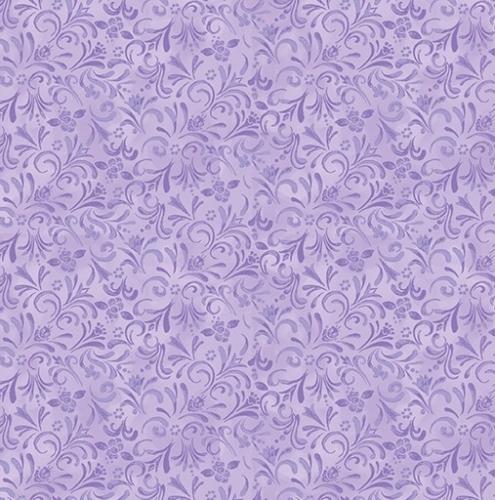BENARTEX - Awaken The Day - Painterly Swirl Light Purple
