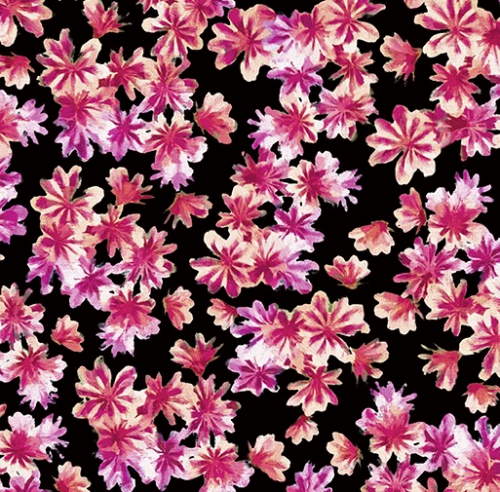 KANVAS STUDIO - Blooming Beauty - Breezy Blooms Black