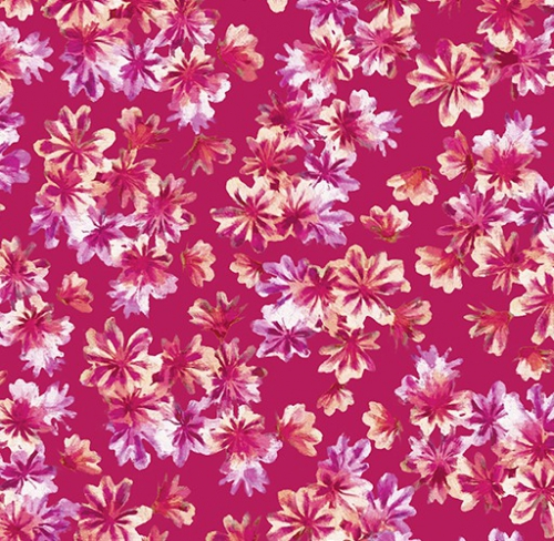KANVAS STUDIO - Blooming Beauty - Breezy Blooms - Rose Coral