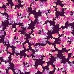 KANVAS STUDIO - Blooming Beauty - Breezy Blooms - Purple