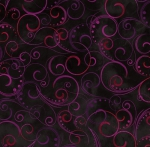 KANVAS STUDIO - Blooming Beauty - Swirling Splendor - Black Multi
