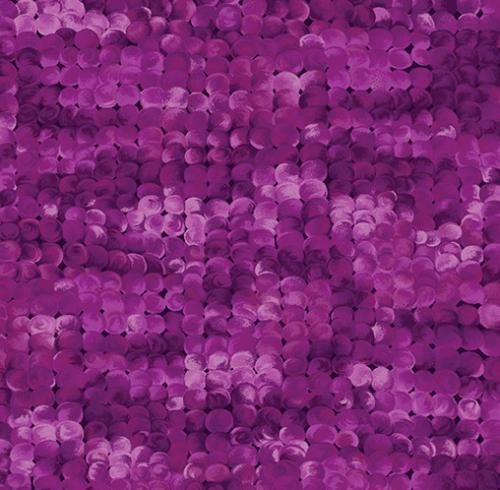 KANVAS STUDIO - Blooming Beauty - Delightful Dots -Medium Violet
